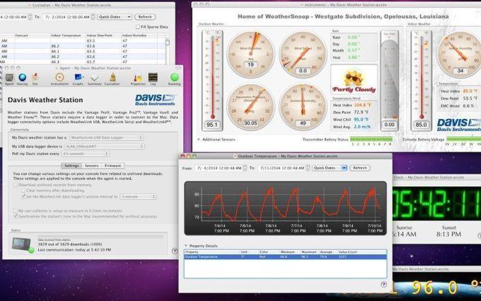 weathersnoop software para estaciones meteorológicas