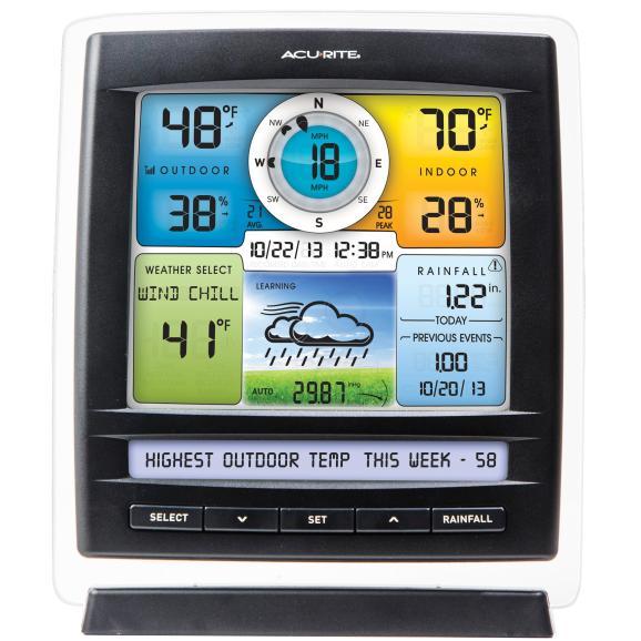 AcuRite-01036-Pro-Colore estacion meteorologica