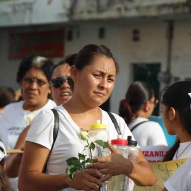 Recordaron a sus familiares en el Día de las Víctimas de Desapariciones Forzadas.