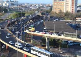 nova sede Saerrgs - Vista da rodoviária de Porto Alegre