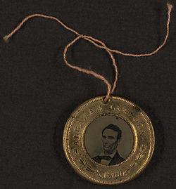 Lincoln Button-1860