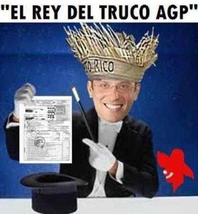 AGaPito ahora es el Dictador Sin Ley Ni Constitución