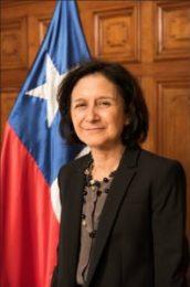Ministra Andrea Muñoz, encargada de los asuntos de género del Poder Judicial
