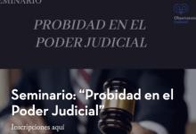 """Probidad en el Poder Judicial"""""""