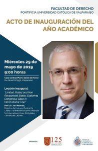 Inauguración del año académico 2019