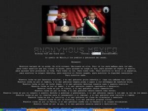 La imagen que sustituyó el contenido de la página de la Sedena. Foto: Especial