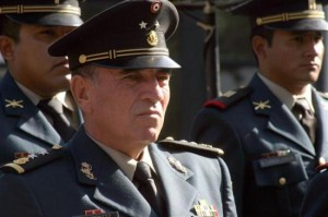 General Miguel Gustavo González Cruz. Foto: Especial