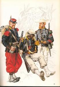 Legión Extranjera en Cameron