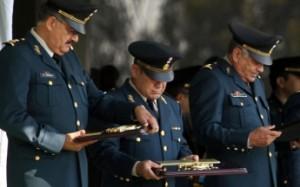 Militares que pasaron a situación de retiro. Foto: Especial