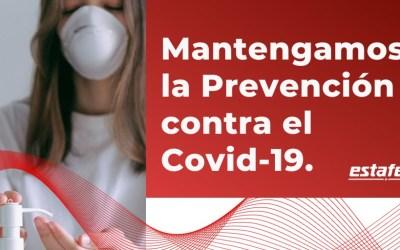 La prevención contra el COVID 19 todavía es muy necesaria