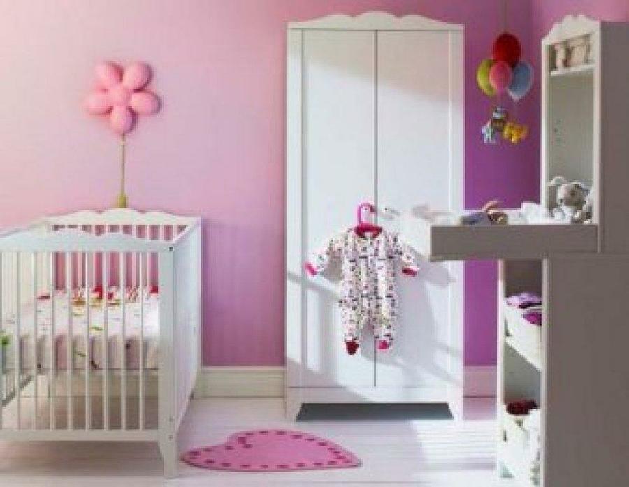 Decorar Habitacion Bebe Nia Awesome Decoracin Infantil Mi