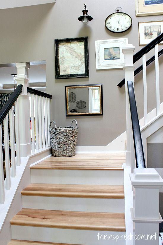 35 ideas para decorar el area de las escaleras