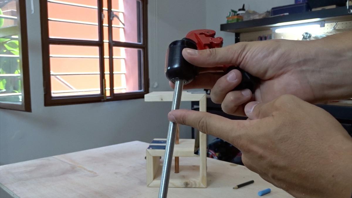 Como hacer una lampara 11   DIY modern lamp