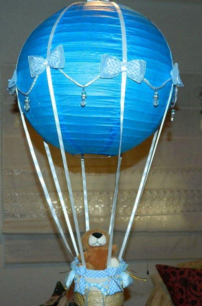 Paso a paso de una lmpara de globo aerosttico para la