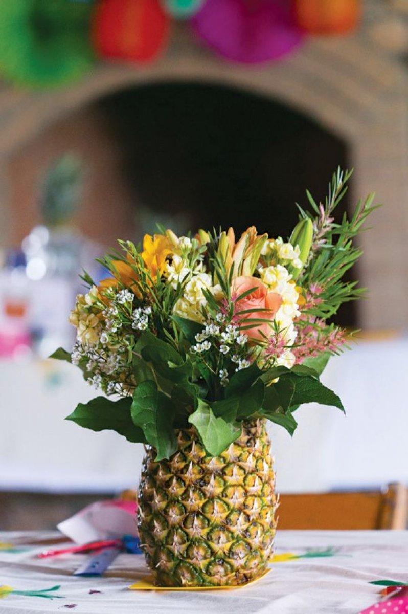 Centros de mesa con frutas Ideas creativas  Decoracin