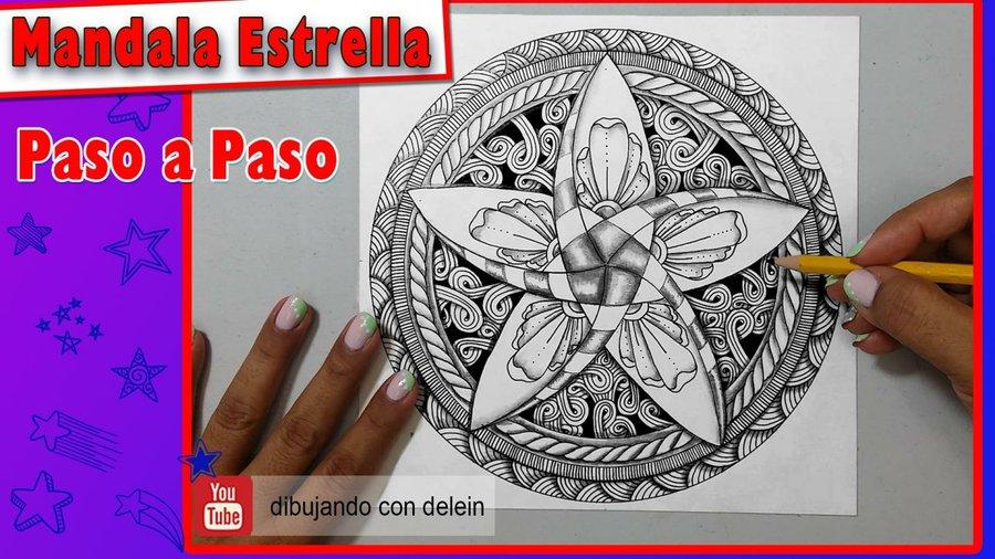 Mandalas Para Dibujar Faciles Y Bonitas Paso A Paso
