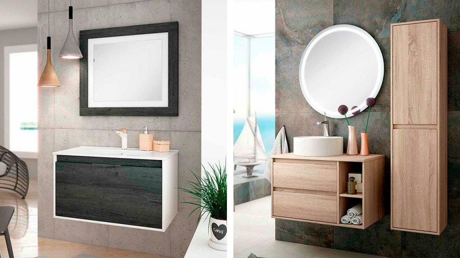 Muebles de bao y lavabos esto es lo que se lleva