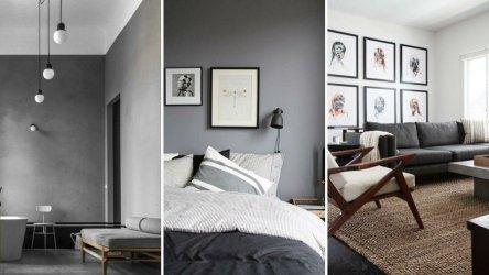 30 ideas para decorar tu hogar con gris y blanco Decoración