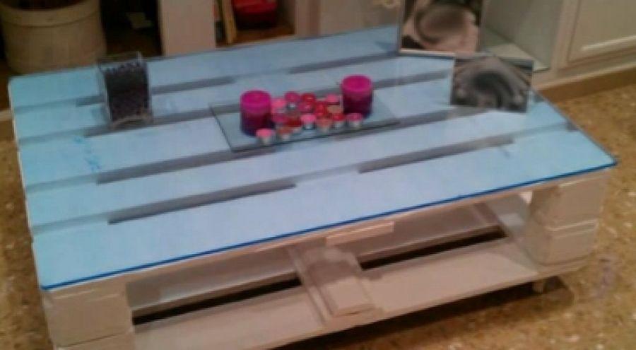 Cmo hacer una mesa original con palets  Bricolaje
