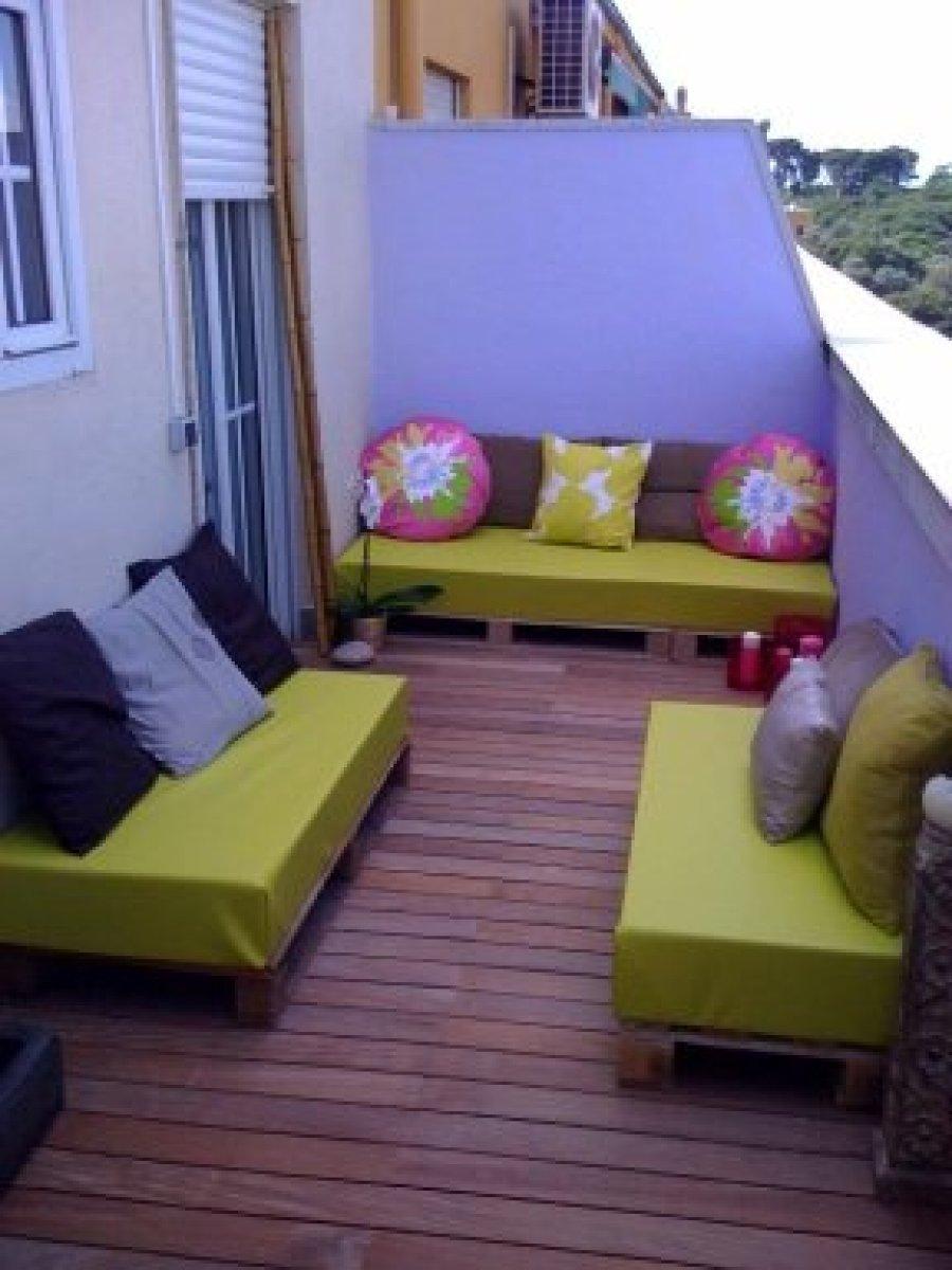 10 terrazas amuebladas con palets  Bricolaje