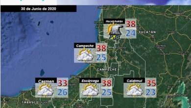 Foto de Pronóstico del tiempo en Campeche  para el martes 30 de junio