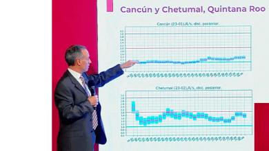 Foto de López Gatell exhorta a población de Chetumal a quedarse en casa para frenar propagación de COVID-19