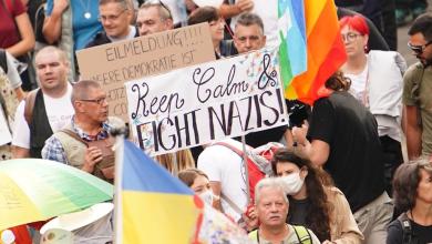 Foto de Autoridades de Berlín no consiguen frenar la manifestación contra las restricciones por la COVID-19