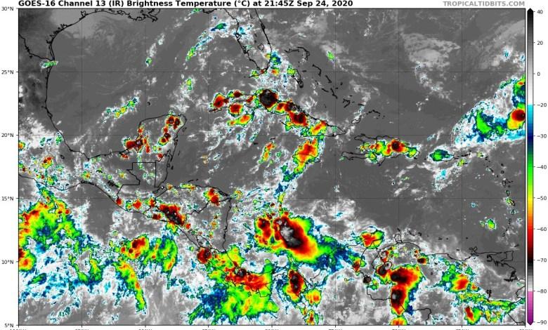 Foto de Fin de semana con tormentas dispersas en la región