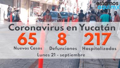 Foto de Inicia semana con 65 casos, 8 defunciones y 217 hospitalizados