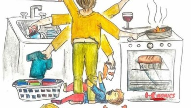 Foto de Sin límites entre maternidad, trabajo, pareja, hogar, escuela…