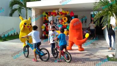 Foto de Festejan cumpleaños con Caravanas; desde el lunes se podrán hacer fiestas
