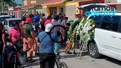 Foto de Realizan homenaje de despedida a El Pachangas