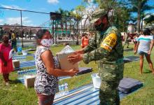 Foto de Comisarías de Tizimín reciben FONDEN de SEDENA