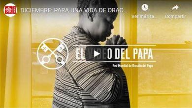 """Foto de Video del Papa cerrando el 2020: """"Orar puede cambiar la realidad y los corazones"""""""