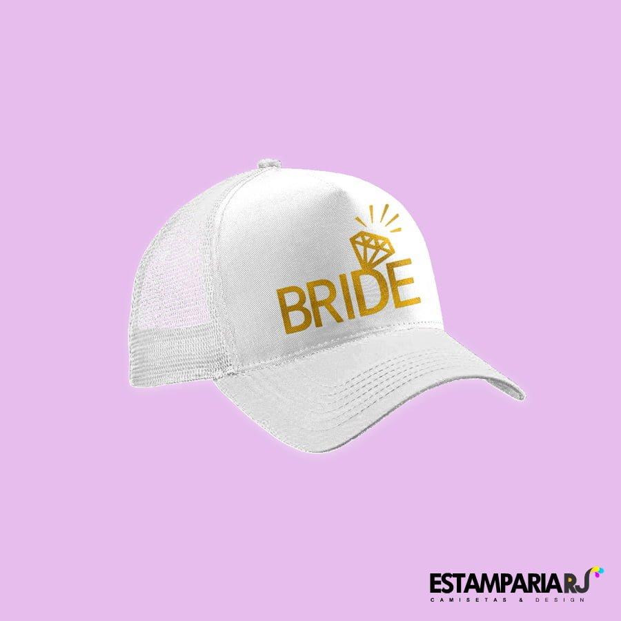 Boné Bride personalizado para despedida de Solteira. 🔍. R 29 ... da3b2d19ea8