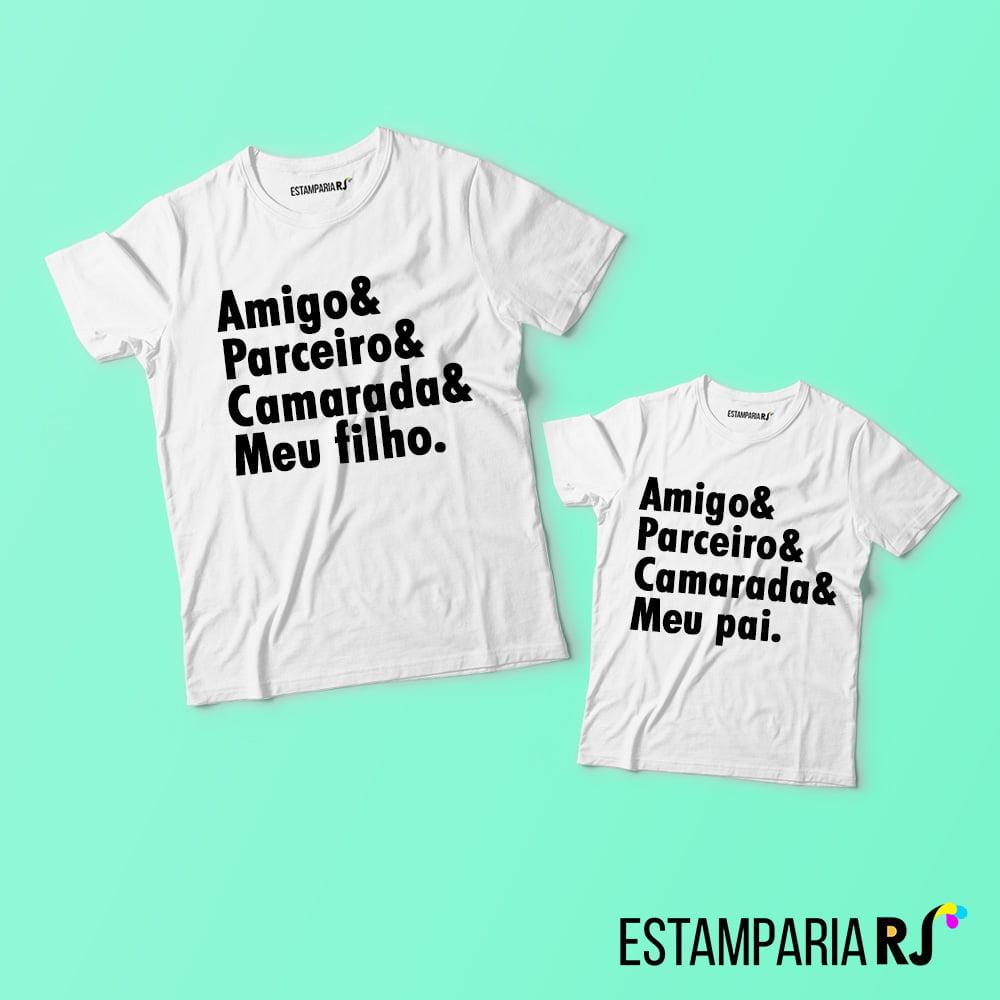 90c4c5993 Camisetas Personalizadas Pai e Filho