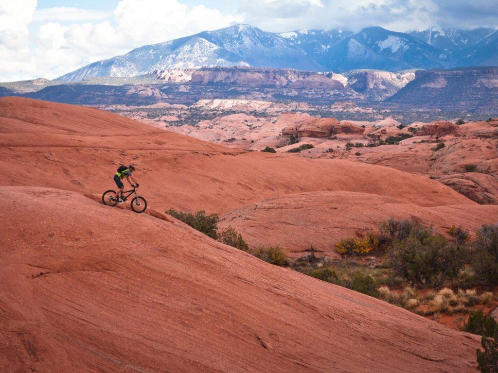 Mountain biking southern Utah
