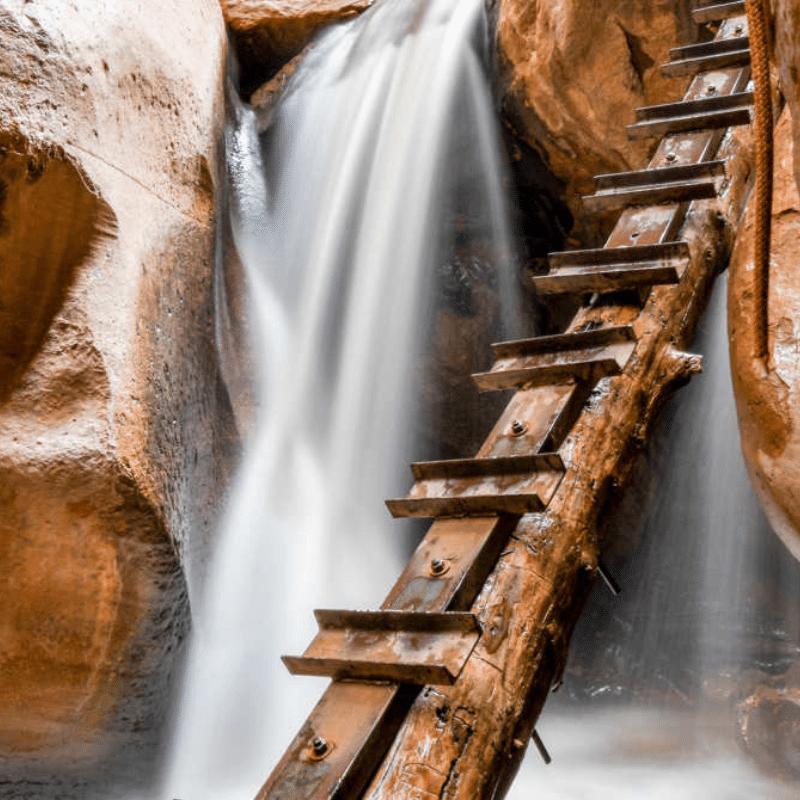 Kanarraville Falls_ Kanarra Creek Trail