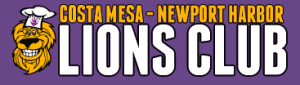 Costa Mesa Lions Club logo