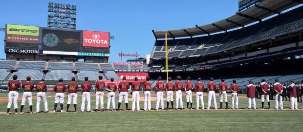 Eagles at Anaheim Stadium