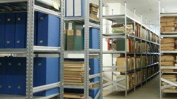 Estanterías metálicas para archivos