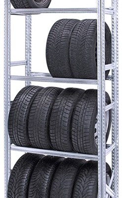 Estanterías metálicas para neumáticos en Tenerife