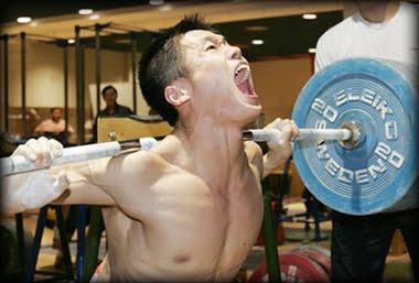 Entrenamiento ejercicio intenso