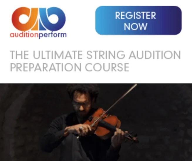 Audition Perform course details