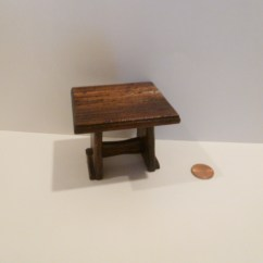 Kitchen Tables & More Cupboards Freestanding Tudor Table By Michael Mortimer 79 00 Estate Dollhouse