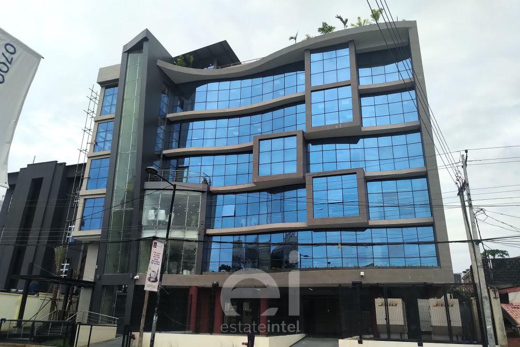 June 2019. Development: 5 Floor Office Development for Banwo & Ighodalo, Awolowo Road, Ikoyi