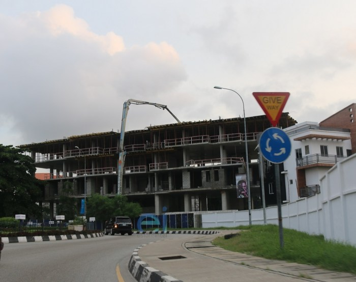 June 2019. Development: Eyes of Lagos, Corner of Ruxton and Alexander Road, Ikoyi - Lagos