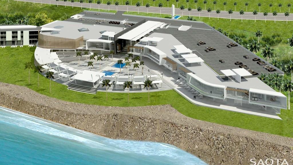 Building Obsession: Sea Plaza Shopping Mall and Hotel Complex, Fann, Dakar - Senegal. Image Source: SAOTA