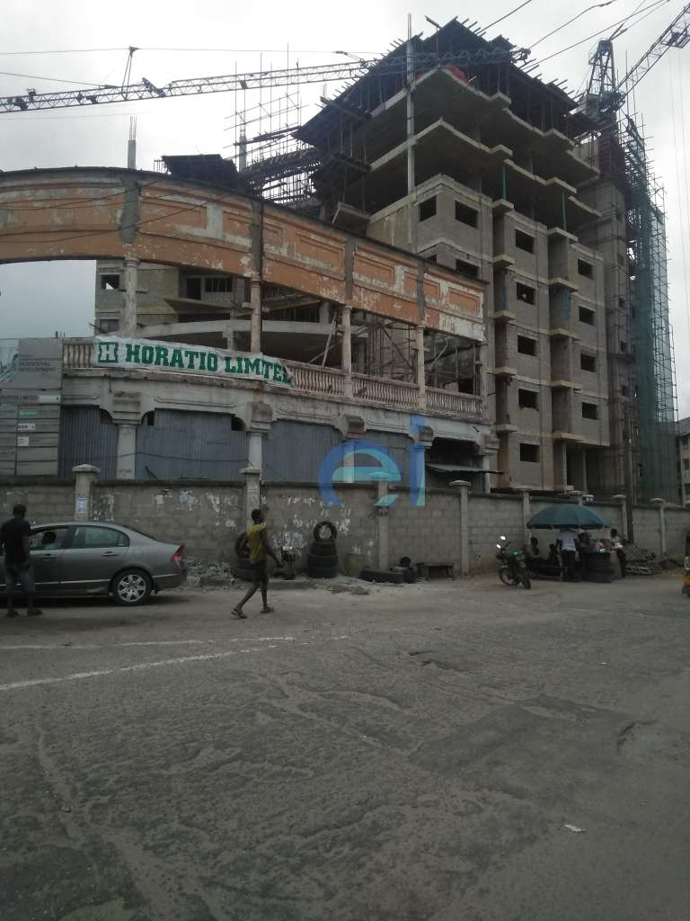 Ongoing Construction Development: Casino Heights, Yaba - Lagos. Image Source: Estate Intel.