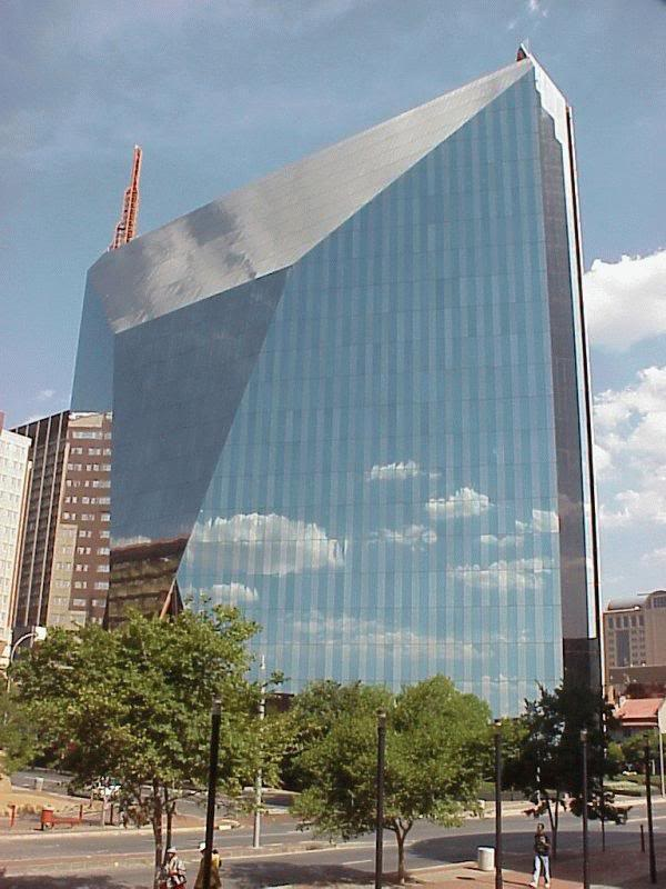 Side View of 11 Diagonal Street also known as Diamond Building